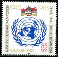 DDR - Mi 2982 - ** Postfrisch (C) - 85Pf  40 Jahre UNO - [6] Oost-Duitsland