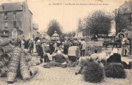 14-BAYEUX- LE MARCHE AUX PANIERS A BEURRE ET AUX RALAIS - Bayeux
