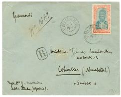 1911 8g Canc. ADDIS ABABA POSTES (french Type) On REGISTERED Envelope To SWITZERLAND. Scarce. Vvf. - Ethiopie