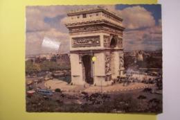 PARIS - L'ARC DE TRIOMPHE  - LA CARTE MUSICALE - PHONOSCOPE -  ( Titre :  Marjolaine  )  Disque 45 Tours - Spezialformate