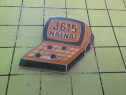 813e PINS PIN'S / Beau Et Rare : Thème INFORMATIQUE / MINITEL 36-15 NAFNAF - Informatique