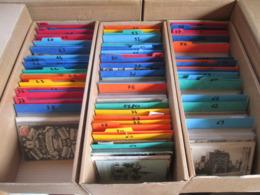 Lot De + 2000 Cartes  Departement Francais De 1 A 95 Toutes Classees Petite Et Moyennes Cartes - 500 Postcards Min.
