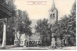 Prades  Labouche 1059  Place De L Eglise Et Clocher  Pas Courante - Prades