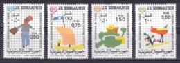 Somalia 1979 ( Art - IYC Emblem, Children's Drawings ) - Complete Set - MNH (**) - Somalie (1960-...)