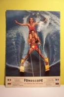 SKI  NAUTIQUE   - LA CARTE MUSICALE - FONOSCOPE -  ( Titre : Piccolissima  Serenata   )  Disque 45 Tours - Speciale Formaten