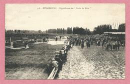 """67 - STRASBOURG - Hippodrome Des """" Bords Du Rhin """" - Course De Chevaux  - 2 Scans - Strasbourg"""
