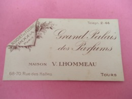 Carte Publicitaire Parfumée/ROGGA Paris /Grand Palais Des Parfums/Maison Lhommeau/ TOURS/Vers 1920-1930   PARF195 - Cartes Parfumées