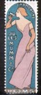 Erinophilie, Vignette Champagne Mumm, Reims - Altri