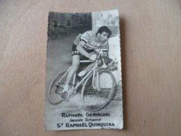 VELO CYCLISME RAPHAEL GEMINIANI ST RAPHAEL QUINQUINA - Cyclisme