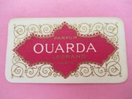 Carte Publicitaire Parfumée/OUARDA/Parfum L Legrand , Paris /Vers 1920-1930   PARF196 - Antiquariat (bis 1960)