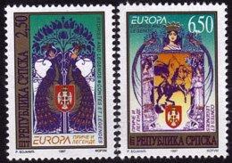Bosnie Serbe - Europa CEPT 1997 - Yvert Nr. 69/70 - Michel Nr. 69/70 ** - Europa-CEPT
