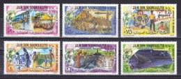 Somalia - 1979 - ( Flower - 10th Anniversary, 21 Revolution ) - Complete Set - MNH (**) - Somalie (1960-...)