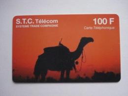 """Carte Téléphonique Prépayée """" S.T.C. Télécom """" (utilisée Luxe). - Per Cellulari (ricariche)"""