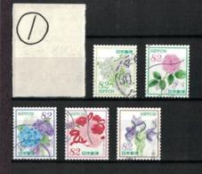 "Japan 2018.04.02 ""Omotenashi"" Flowers Series 10th (used)① - 1989-... Emperador Akihito (Era Heisei)"