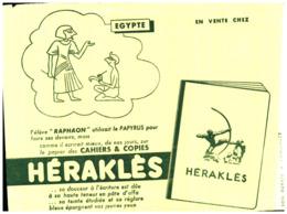 Pa H/ Buvard Papeterie Héraklès (Format 21 X 16) (N= 4) - Papeterie