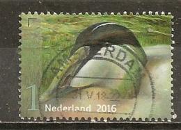 Pays-Bas Netherlands 2016 Oiseau Bird Obl - Period 2013-... (Willem-Alexander)