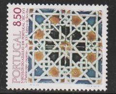 PORTUGAL - N°1514 ** (1981) AZULEJO  (II) - 1910-... República