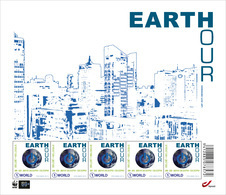 Earth Hour 2014 Postfris - 4405** - Panes
