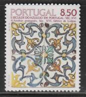 PORTUGAL - N°1529 ** (1981) AZULEJO  (IV) - 1910-... Republic