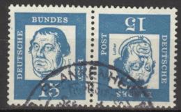 BRD Zusammendruck K3 O - [7] République Fédérale