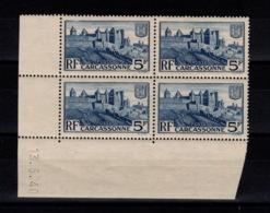 Coin Daté YV 392 N** Carcassonne Du 13.5.40 - 1930-1939