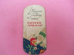 Carte Publicitaire Parfumée/Les Parfums De Salancyt , Paris / CHYPRE AMBRIS /Vers 1920-1930   PARF199 - Cartas Perfumadas