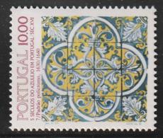 PORTUGAL - N°1554 ** (1982) AZULEJO  (VII) - 1910-... Republic