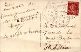 SAINTE ADRESSE (76) Siège Du Gouvernement Belge Pendant La Guerre - Statue Du Roi Albert 1er - Carte Postée En 1938 - Sainte Adresse