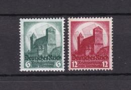 Deutsches Reich - 1934 - Michel Nr. 546/547 - Ungebr. - 60 Euro - Alemania