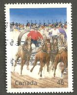Sc. # 1819a Millennium, Cdn. Entertainment, Calgary Stampede Used 1999 K80 - 1952-.... Règne D'Elizabeth II