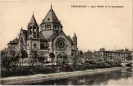 STRASBOURG (67) Le Quai Kléber Et La Synagogue - Très Bon état - écrite Au Verso - Strasbourg