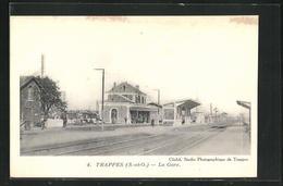 CPA Trappes, La Gare - Trappes