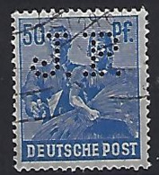 Germany (Alliierte Besetzung) 1947-48 (o) Mi.955 (Perfin J.P.) - American,British And Russian Zone