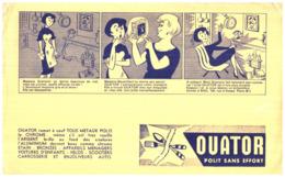 """Pm O/ Buvard Produits Ménagé """"Ouator""""   (Format 21 X 13.5) (N= 1) - Produits Ménagers"""