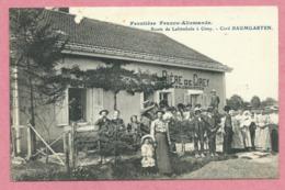 54 - CIREY - Grenze - Frontière Franco-Allemande - Route De LAFRIMBOLE - Café BAUMGARTEN - Bière De Cirey - Cirey Sur Vezouze