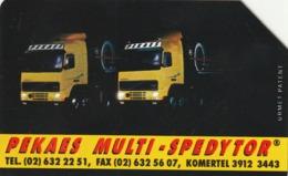 POLONIA. CAMIONES - TRUCKA. Pekaes Multi-spedytor. 25U. 61. (180) - Polonia