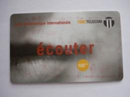"""Carte Téléphonique Prépayée """" TORC TELECOM """" (utilisée). - France"""