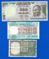 500  Rupiee  Sig  87  +5  Billets  Dans  L'etat - Inde