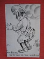 US Propaganda  ---  Mine Fuehrer  How Did You Enjoy Your Trip To Russia ?    Ref 3608 - Guerra 1939-45