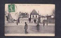 Nancy (54) Place Et Porte St Saint Georges ( Animée Royer & Cie) - Nancy