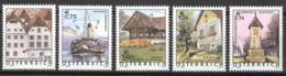 Österreich 2415/19 ** Postfrisch - 2001-10. Ongebruikt
