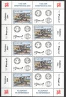 Österreich 2482 Kleinbogen ** Postfrisch - Blocks & Kleinbögen