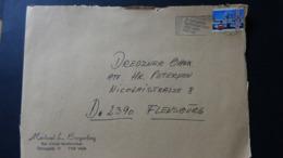 Denmark - 1986 - Mi:DK 870, Sn:DK 821, Yt:DK 871 On  Large Envelope - Look Scan - Briefe U. Dokumente
