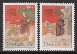 PORTUGAL - N°1530/1 ** (1982) Saint François D'Assise - 1910-... Republic