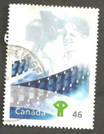 Sc. # 1821c Millennium, Fostering Cdn. Talent, National Film Board Used 1999 K100 - 1952-.... Règne D'Elizabeth II