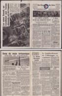 """BELGIQUE 2Eme GUERRE COURRIER PARACHUTE """"COURRIER DE L AIR Nº10""""  (DD) DC-4041 - WW II"""