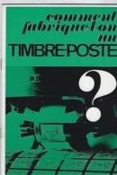 Comment Fabrique-t-on Un Timbre -poste - Postadministraties