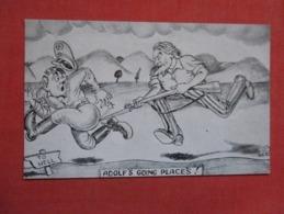 US Propaganda  ---   Adolf's Going Places       Ref 3608 - Guerra 1939-45