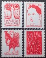 Lot 2070 - 1992 - BICENTENAIRE DE LA PROCLAMATION DE LA REPUBLIQUE - SERIE COMPLETE - N°2772 à 2775 NEUFS** - France