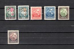 Letonia   1920  .-   Y&T  Nº   50/50A - 51/54 - Letonia